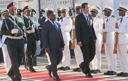 Presidente do Botswana iniciou esta segunda-feira visita oficial a Moçambique (fotos)