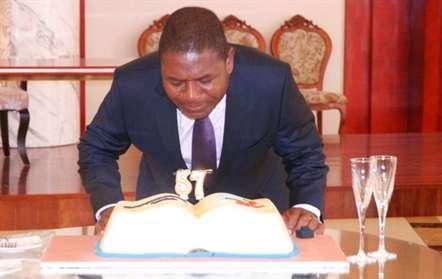 Presidente da República Filipe Nyusi comemorou 57 anos (com fotos)