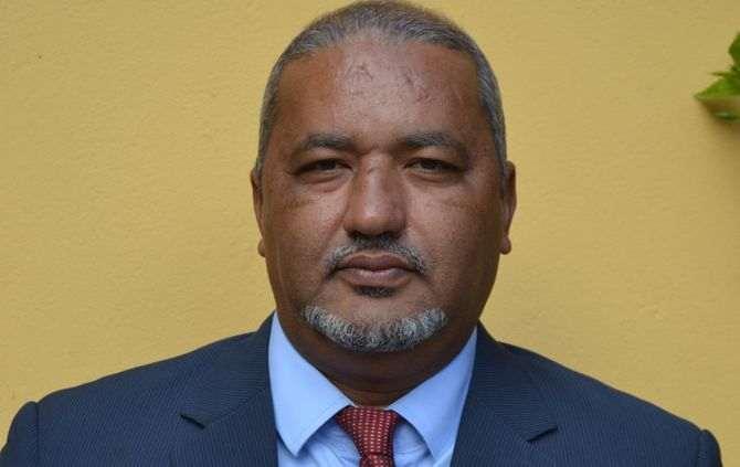 O ministro da Saúde e Segurança Social, Arlindo do Rosário (Foto Daniel Almeida)