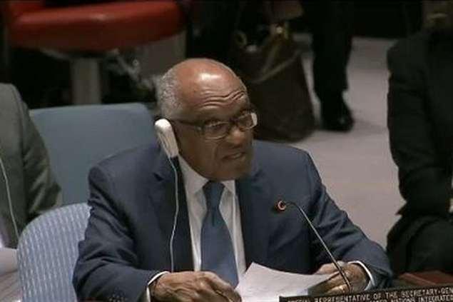 Miguel Trovoada, Representante Especial da ONU na Guiné-Bissau