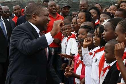 Presidente Filipe Nyusi felicita Organização das Nações Unidas