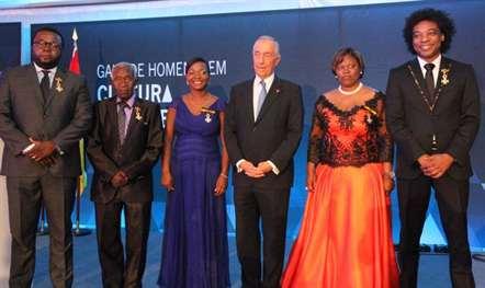 Marcelo homenagiou músicos moçambicanos em Maputo (fotos)