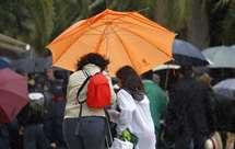Estão previstos períodos de chuva no sábado (Foto ASF)