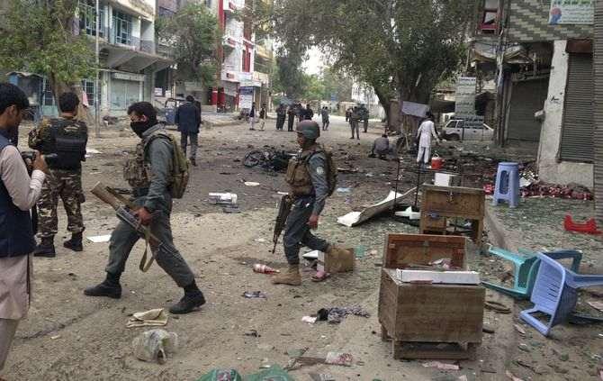 Homens armados atacam sede de canal de televisão afegão