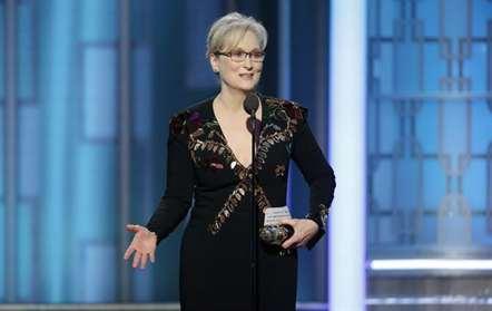 Meryl Streep ataca Trump em dircurso nos Globos de Ouro