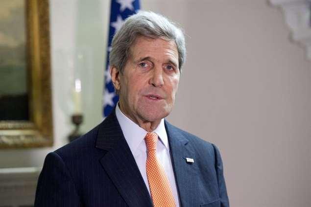 O secretátio de Estado dos EUA, John Kerry
