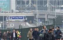 O aeroporto a 22 de março