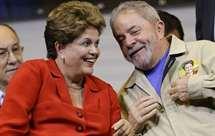 Dilma Rousseff e Lula da Silva (AP)
