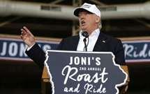 Donald Trump no Iowa (AP)