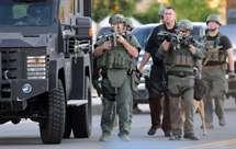 Dois polícias baleados em San Diego