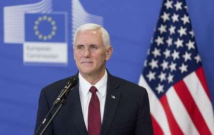 Mike Pence assegura em Bruxelas que Washington prosseguirá cooperação com UE