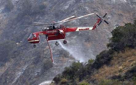 Incêndio de grandes proporções faz dois mortos no estado da Califórnia
