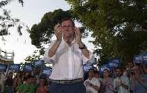 Mariano Rajoy, líder do PP e chefe do governo de gestão