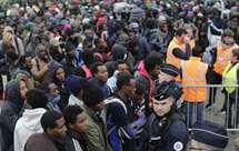 Migrantes de Calais