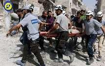 (Foto Syrian Civil Defense White Helmets/AP)