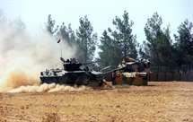 Enviados seis novos carros de combate para a Síria