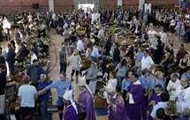 Começaram os funerais das vítimas do sismo