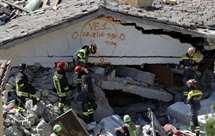 Devastação em Pescara del Trento (AP)