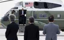 Barack Obama chegou à cidade de Hiroshima