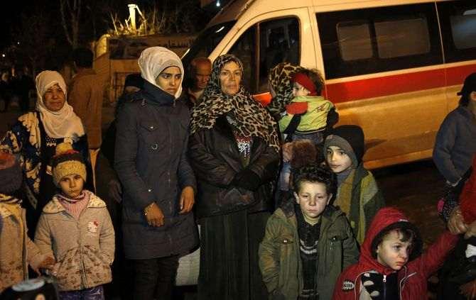 Refugiados em Madaya