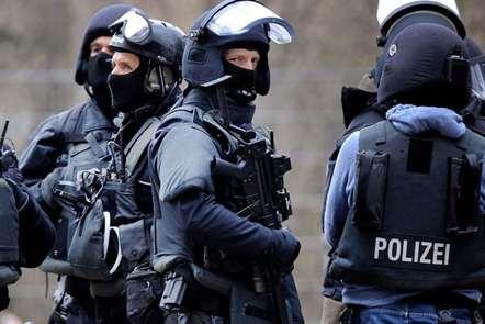 Operação policial em Colónia