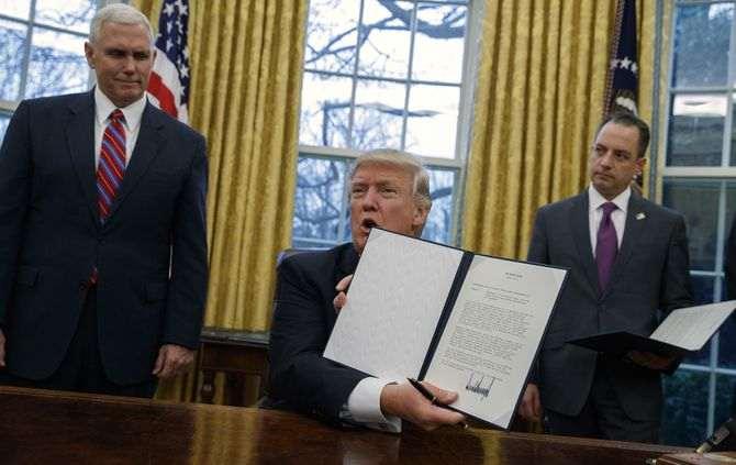 Trump mexe na reforma financeira lançada por Obama