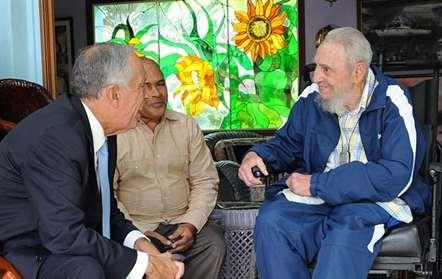 Marcelo diz que Fidel «acompanha tudo o que se passa»