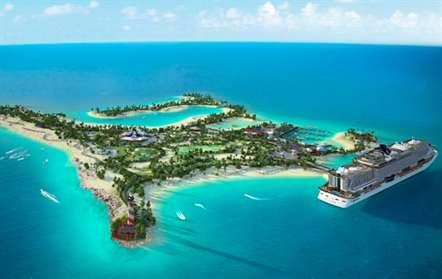 MSC cria paraíso natural nas Bahamas