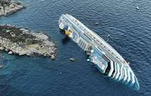 Costa Concordia naufragou em janeiro de 2012