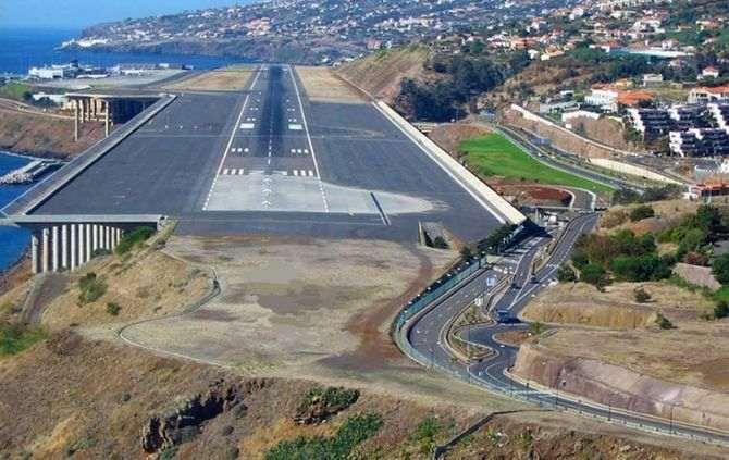 Aeroporto da Madeira (Foto: Facebook Ilha da Madeira)
