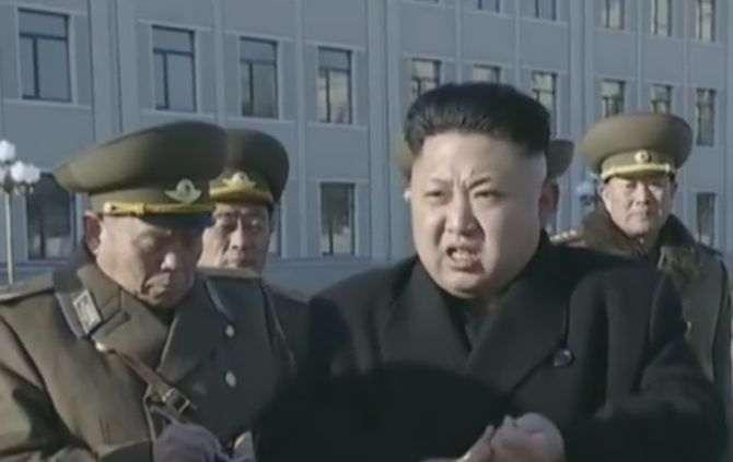 Kim Jong-un, líder da Coreia do Norte (Foto retirada do You Tube)