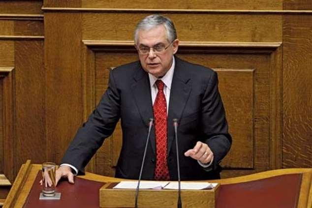 Ex-primeiro-ministro grego Lucas Papademos ferido em explosão de engenho