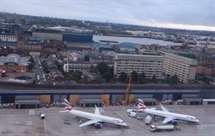 Aeroporto de Londres evacuado devido a alerta de incêndio