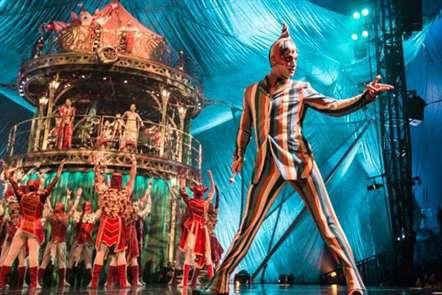 Cirque Du Soleil regressa a Lisboa em janeiro de 2017