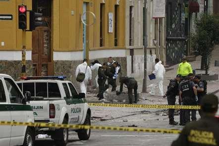 Explosão perto da praça de touros de Bogotá mata um polícia e faz 31 feridos