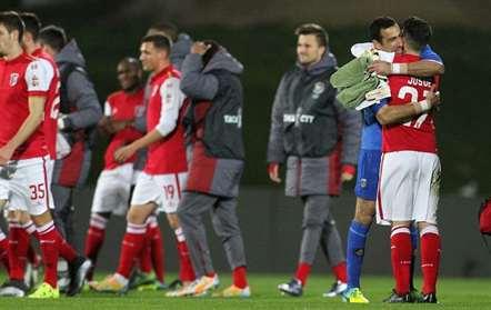 SC Braga defronta Benfica nas meias-finais