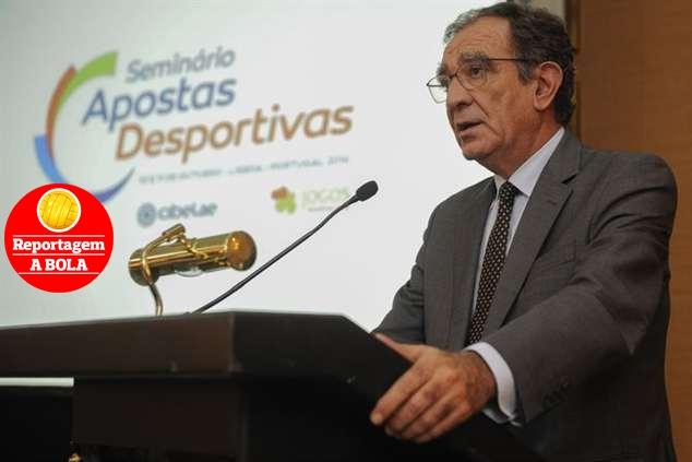 Edmundo Martinho, vice-provedor da SCML e administrador executivo do Departamento de Jogos