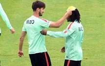 André Gomes e Renato Sanches estão entre as «desilusões da época» para o `Goal` (Foto: Miguel Nunes/ASF)