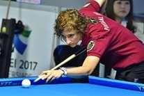 Sara Rocha, jogadora da Académica de Coimbra e proprietária da Bracara, em Braga, trouxe bronze nos Europeus de Pool de 2016, tal como o madeirense Miguel Silva