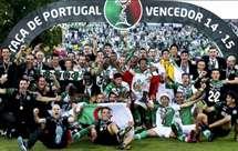 Conquista da Taça de Portugal 2014/2015 pelo Sporting
