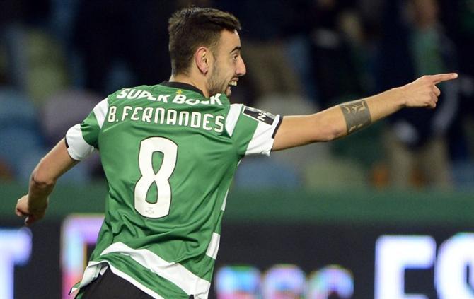 Resultado de imagem para Bruno Fernandes garante que não voltou ao Sporting por dinheiro