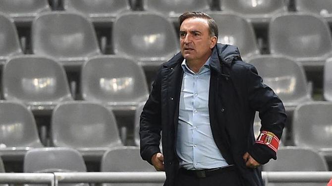 Photo of Carvalhal fala em jogo ingrato (SC Braga) | A Bola