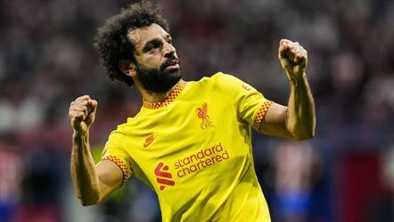 Os números da noite de recordes para Salah