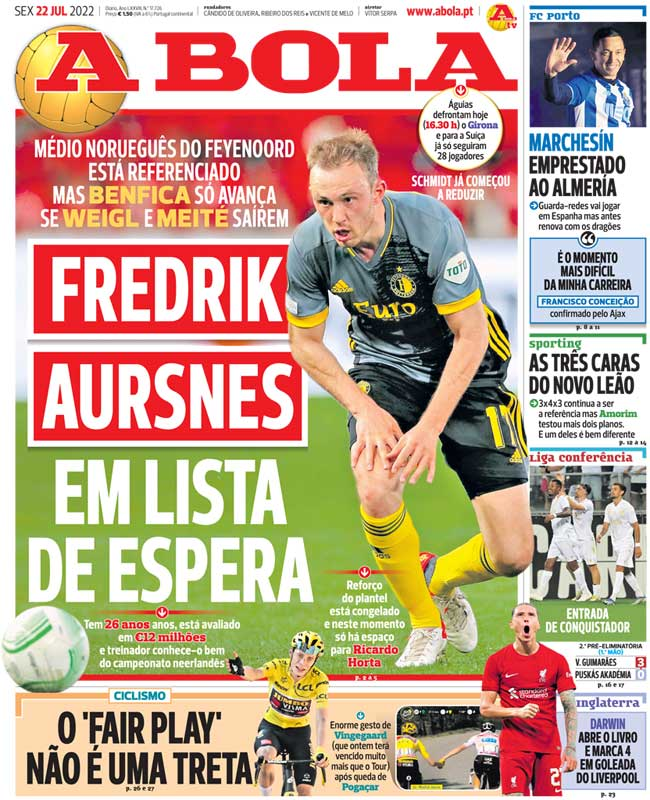 wdia grande Man Uniteds Bebe expected to sign for Benfica today [A Bola]